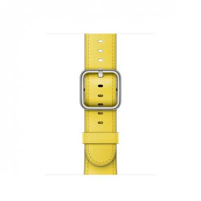 Apple 38mm Spring Yellow Classic Buckle - Geel