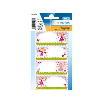 Herma naaiaccessoire: 4 pcs, Clothing labels princess - Multi kleuren