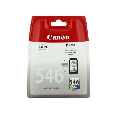 Canon CL-546 Inktcartridge - Cyaan, Magenta, Geel