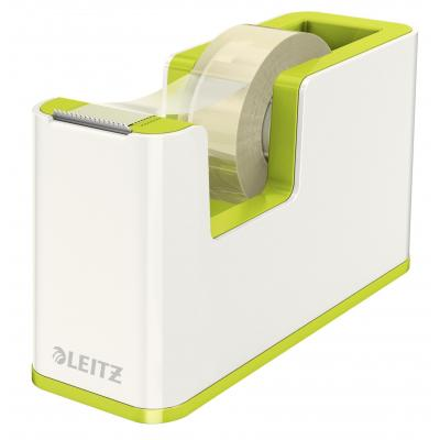 Leitz WOW Tape afroller - Groen, Metallic