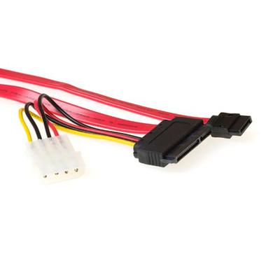 ACT Serial ATA combi kabel 0,75 m ATA kabel - Multi kleuren