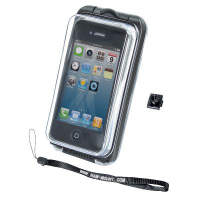 RAM Mounts RAM-HOL-AQ7-1LU Mobile phone case - Zwart, Transparant