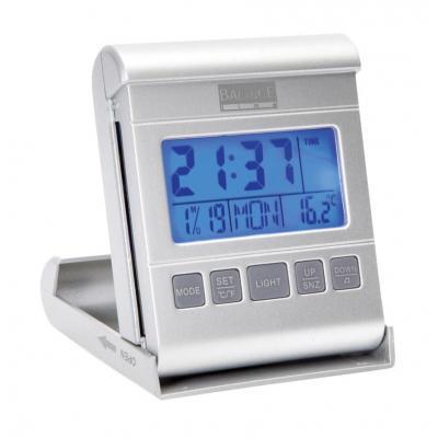 Balance wekker: LCD Reiswekker