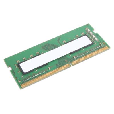 Lenovo 8GB 3200MHz DDR4, 260-pin SO-DIMM, Unbaferrred, non-ECC, 1.2V RAM-geheugen