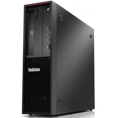 Lenovo ThinkStation P320 SFF Xeon E3 v6 8GB RAM 256GB SSD Pc - Zwart