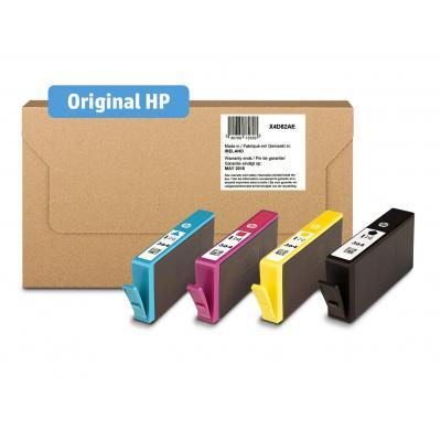 Hp inktcartridge: 364 CMYK Ink Cartridges Mailable Combo 4-Pk