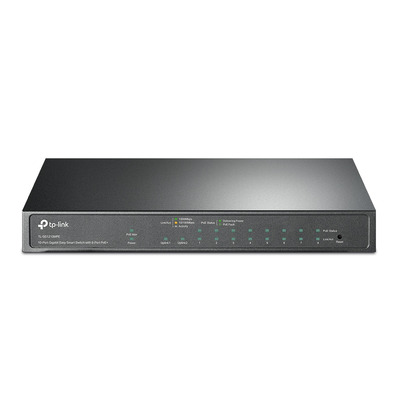 TP-LINK 9× 10/100/1000 Mbps RJ45, 1× 1000 Mbps Combo SFP/RJ45, 20 Gbps, 4 K MAC, 209 × 126 × 26 mm Switch - .....