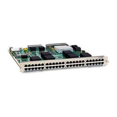 Cisco netwerk switch module: 48-port Copper Gigabit Ethernet Module with DFC4