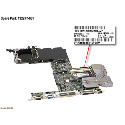 HP 192277-001-RFB moederborden
