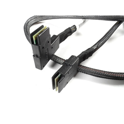 Hewlett Packard Enterprise Mini-SAS cable kit - 1.83 feet Kabel adapter - Zwart