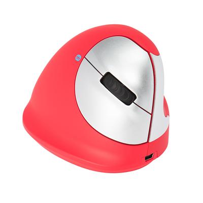 R-Go Tools R-Go HE Sport, Ergonomische, Medium (Handlengte 165-185mm), Rechtshandig, Bluetooth, Rood Muis