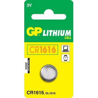Gp batteries batterij: Lithium Cell CR1616 - Roestvrijstaal
