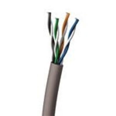 C2g netwerkkabel: Cat6 550MHz UTP Solid PVC CMR Cable 305m - Blauw