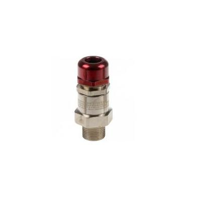 Axis Ex d Cable Gland M20 Non-armored Kabelwartel - Metallic, Rood