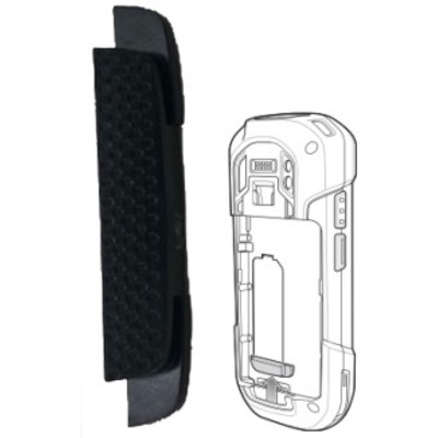 Zebra Replacement Blank/Filler for Handstrap or Cleat for TC7X - Zwart