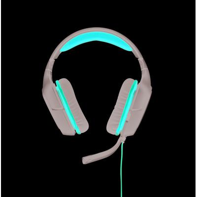 Logitech G G 230 Headset - Zwart, Rood