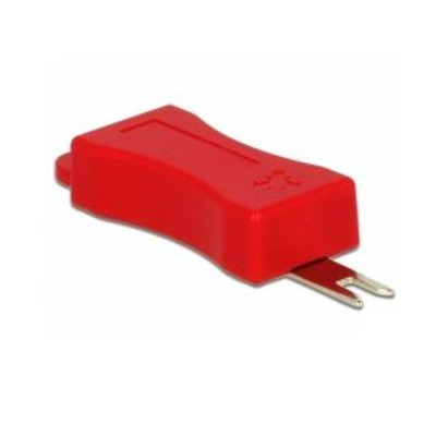 DeLOCK RJ45, red, 4 pieces - Rood