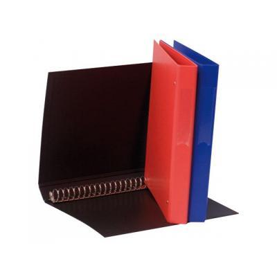 Staples prikbord: Ringband SPLS A4 23r 25mm blauw