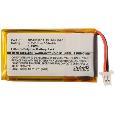 CoreParts MBXWHS-BA110 Koptelefoon accessoire - Zwart