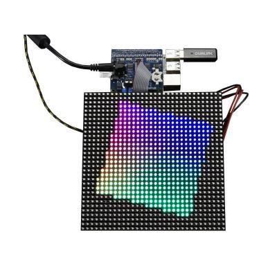 Adafruit : RGB Matrix HAT + RTC for Raspberry Pi - Mini Kit