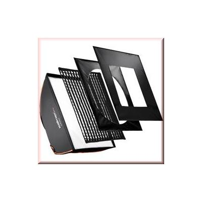 Walimex softbox: pro SB PLUS OL 80x120cm Profoto - Zwart, Wit
