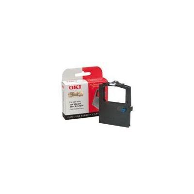 OKI printerlint: Zwart lint nylon voor MicroLine 320 & 390 Flatbed