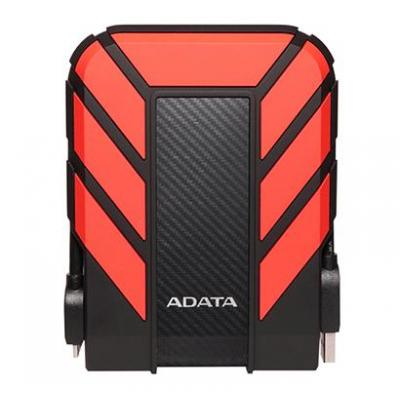 Adata externe harde schijf: HD710 Pro - Zwart, Rood