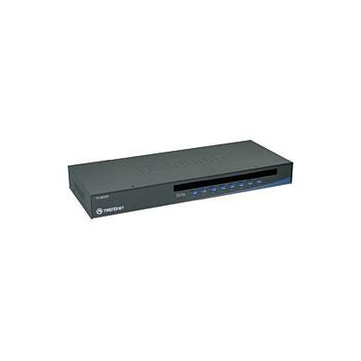 Trendnet KVM switch: TK-803R 8-Port USB/PS/2 Rack Mount KVM Switch
