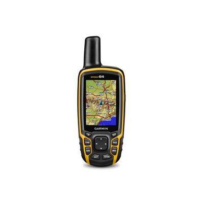 Garmin navigatie: GPSMAP 64 - Zwart, Oranje