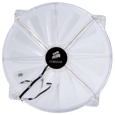 Corsair Carbide 500R Case - Side 200mm Fan, Clear with White LEDs Hardware koeling - Transparant