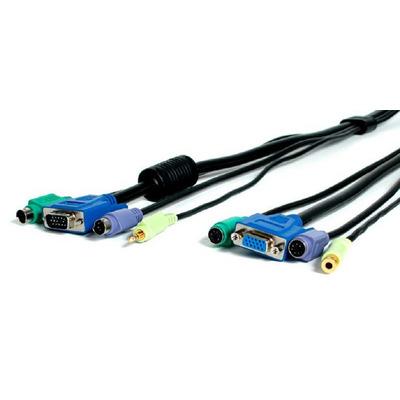 Newstar De M4N1PS2EXT10 is een 4-in-1 KVM audio verlengkabel. Hiermee vergroot u de afstand tussen de PC en PS/2 .....