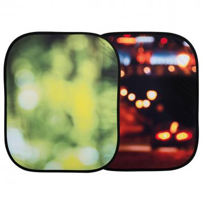 Lastolite : Out of Focus 1.2 x 1.5m Summer Foliage/City Lights - Veelkleurig