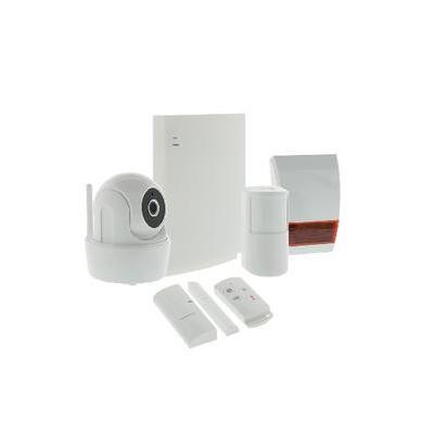 König beveiligingscamera: Smart home security set - Wit