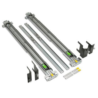 HP inbouwset voor rack met verstelbare rails rack toebehoren - Zwart, Metallic