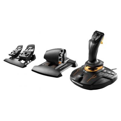 Thrustmaster game controller: T.16000M FCS Flight Pack - Zwart