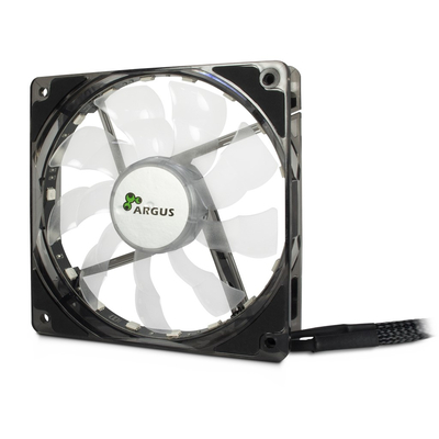 Inter-Tech L-12025 Aura Hardware koeling - Zwart
