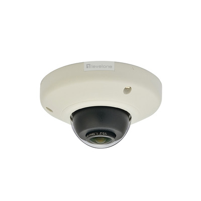 """LevelOne 5MP, IP, 2592 x 1944px, 15 fps, 1~1/10000 sec, CMOS 1/3.2"""", RAW, Fast Ethernet, PoE 802.3af, WDR ....."""