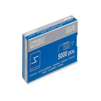 Rapid nietjes: Nieten 65/6 verzinkt/doos 5000