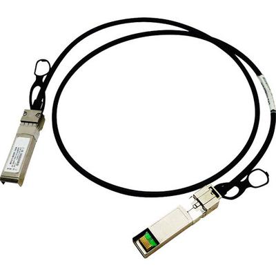Hewlett packard enterprise netwerkkabel: X240 10G SFP+ 0.65m DAC - Zwart (Refurbished LG)