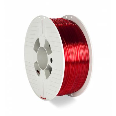 Verbatim 55054 3D printing material - Rood, Transparant