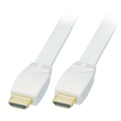 Lindy HDMI 1.3/1.4 Premium 7.5m HDMI kabel - Wit