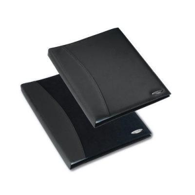 Rexel : Soft Touch Displayboek Nappa A4 24-tas Zwart