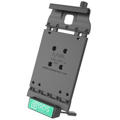 RAM Mounts 321.7g, Composite, Black Mobile device dock station - Zwart