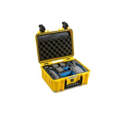 B&W type 3000 case for DJI Mavic 2 V2 (Pro/Zoom), yellow - Geel