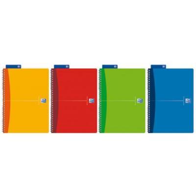 Elba schrijfblok: A4, 180 pages, 90g - Multi kleuren
