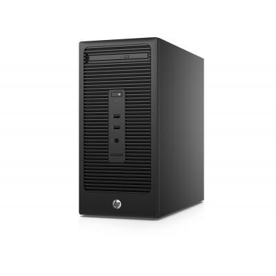 Hp pc: 200 serie: 285 G2 MT workstation - AMD A6 - 500GB HDD - Zwart