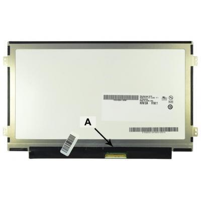 2-power notebook reserve-onderdeel: 10.1'' WSVGA 1024x600 LED Glossy Samsung N120 - Zwart
