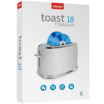 Roxio Toast 18.0 Titanium (English) MAC Algemene utilitie