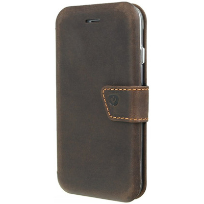 Impact Wallet Booktype iPhone 8 / 7 / 6(s) - Vintage Brown - Bruin / Brown Wearable computing devices