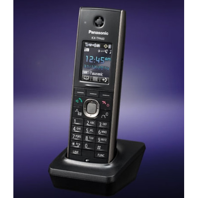 Panasonic telephone headset: KX-TPA60 - Zwart